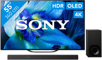 Sony KD-55AG8 + Soundbar