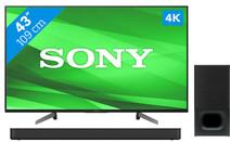 Sony KD-43XG8305 + Soundbar