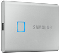 Samsung T7 Touch Portable SSD 2TB Zilver