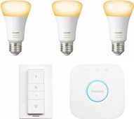 Philips Hue White Ambiance Starter Pack with Dimmer