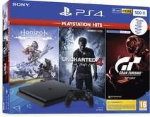 Sony PS4 Slim 500 GB PlayStation Hits bundel (3 games)