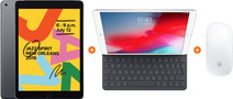 Apple iPad (2019) 32 GB Wifi Space Gray + Smart Keyboard + Magic Mouse