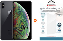 Apple iPhone Xs Max 64GB Space Gray + InvisibleShield Glass