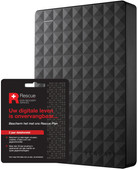 Seagate Expansion portable 5TB + Seagate Rescue Card 2 years