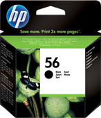 HP 56 Cartridge Zwart (HPC6656A)