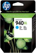 HP 940 Cyan XL Ink Cartridge (blauw) C4907AE