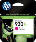 HP 920 Magenta XL Ink Cartridge (rood) CD973AE