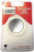 Bialetti Filter Plate + Rubber Ring 6 cups