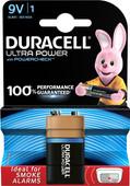 Duracell Ultra Power alkaline 9V battery 1 piece