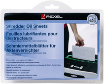 Rexel Olie Vellen (12 stuks)