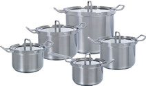 BK Q-linair Master Glass Cookware Set 5-piece