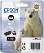 Epson 26 XL Cartridge Foto Zwart (C13T26314010)