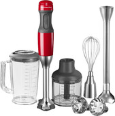 KitchenAid Immersion Blender Set Empire Red