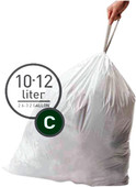 Simplehuman Afvalzakken Code C - 10-12 Liter (20 stuks)