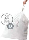 Simplehuman Afvalzakken Code D - 20 Liter (20 stuks)