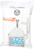 Brabantia Trash Bag Code H - 50-60 Liters (30 units)