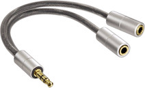 Hama AluLine 3,5 mm audiosplitter