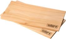 Weber Cederhouten Rookplank Groot (2 stuks)