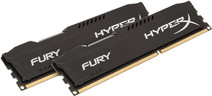 Kingston HyperX FURY 8GB DDR3 DIMM 1866 MHz Zwart (2x4GB)
