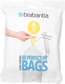 Brabantia Garbage bags Code A - 3 Liter (60 pieces)