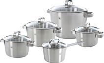 BK Conical Glass 5-piece Cookware set