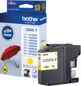 Brother LC-225XLY Cartridge Geel XL