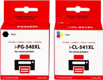 Pixeljet 540/541XL 4-Kleuren Pack voor Canon printers (5225B006)