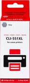 Pixeljet CLI-551 XL Grijs voor Canon printers (6447B001)