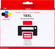 Pixeljet 18 XL 4-Kleuren Pack voor Epson (C13T18164010)