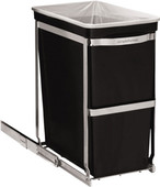 Simplehuman Built-in Pull Out 30 Liter Black