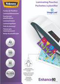 Fellowes Laminator covers ImageLast 80 mic A5 (100 Pieces)