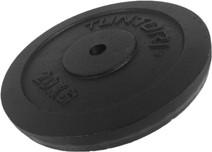 Tunturi Plate 1x 20 kg Black