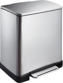 EKO E-Cube 10 + 9 Liter Mat stainless steel