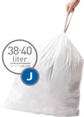 Simplehuman Waste bags Code J - 38-40 Liter (60 pieces)