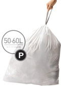 Simplehuman Waste bags Code P - 50-60 Liter (60 pieces)