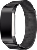 Just in Case Fitbit Charge 2 Milanese Watchband Black
