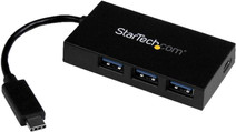 StarTech 4 Port USB 3.0 Hub with USB-C and power adapter