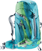 Deuter ACT Trail Pro Petrol / Avocado 38L - Slim Fit