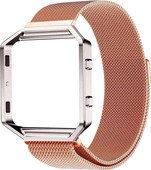 Just in Case Milanese Watch Strap Fitbit Blaze Rose Gold