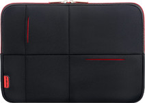 "Samsonite Airglow Sleeve 14,1"" Zwart/Rood"
