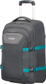 American Tourister Road Quest 15.6 '' Gray / Turquoise