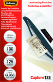Fellowes Laminator covers 125 micron 54 x 86 (100 pieces)
