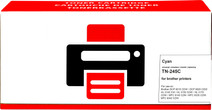 Pixeljet TN-245 Cyaan voor Brother printers
