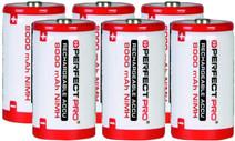 Perfectpro NiMH batteries 6x D