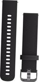 Garmin Vivoactive 3 Silicone Watch Strap S Black/Gray