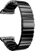 Just in Case Fitbit Ionic Stainless-Steel Watch Strap Black