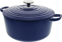 BK Bourgogne Dutch oven 24cm Royal Blue