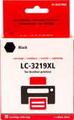 Pixeljet LC-3219XL Zwart voor Brother Printers (LC-3219XL)