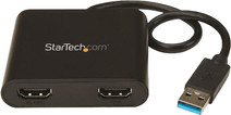 StarTech USB 3.0 naar dual HDMI video docking station