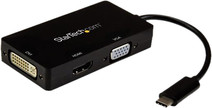 StarTech USB-C - VGA, DVI of HDMI docking station